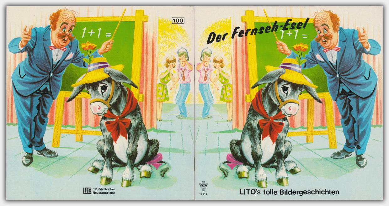 Der Fernseh-Esel | Lito-Kinderbücher-Verlags-GmbH | Nr. 43246, Umschlag