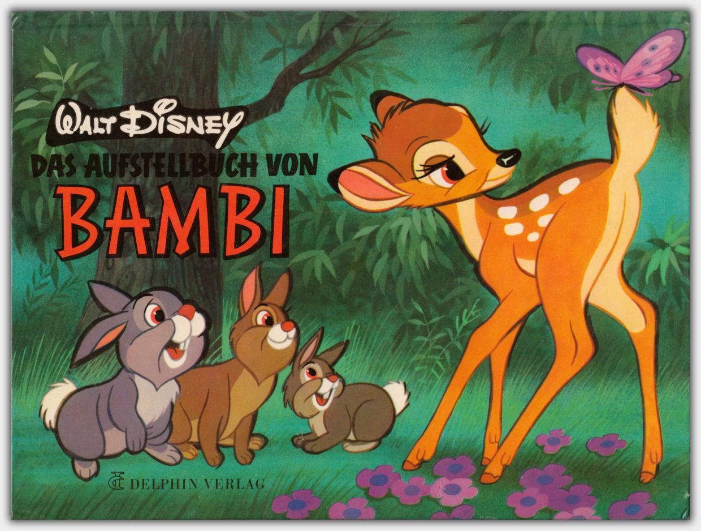Das Aufstellbuch von Bambi | 1. Auflage 1970