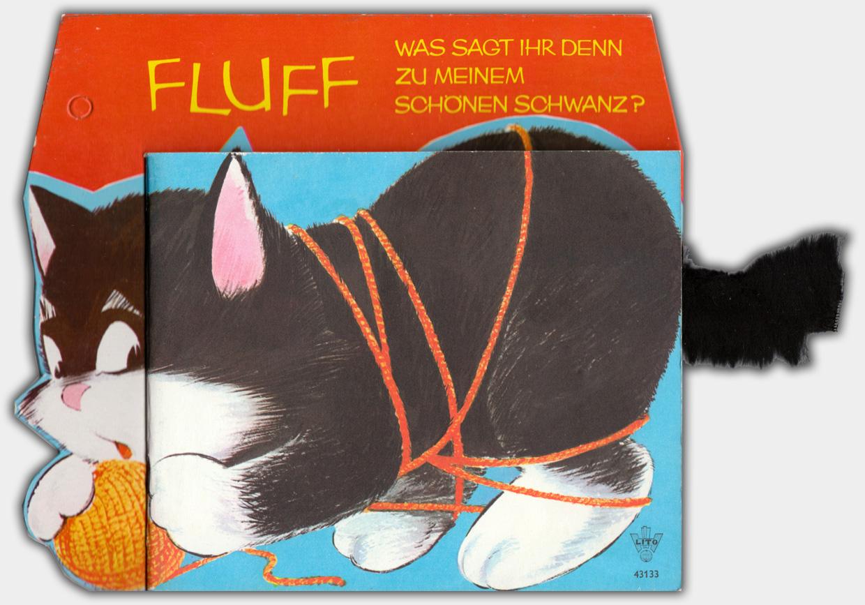 Fluff | Litho Verlag, ca. Ende der 1960er Jahre | Verlagsnummer 43133