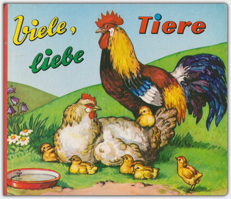 Viele, liebe Tiere | Pestalozzi Verlag um 1963 | Verlagsnummer 1501