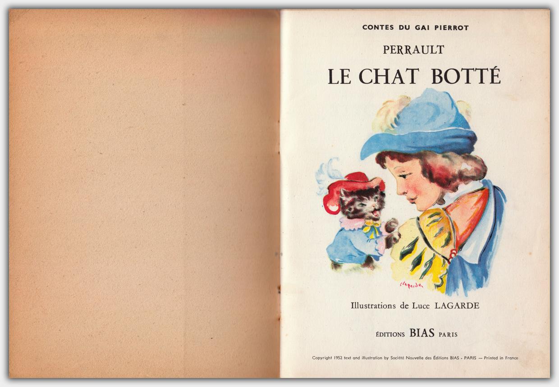 Le Chat Botte | Innentitel