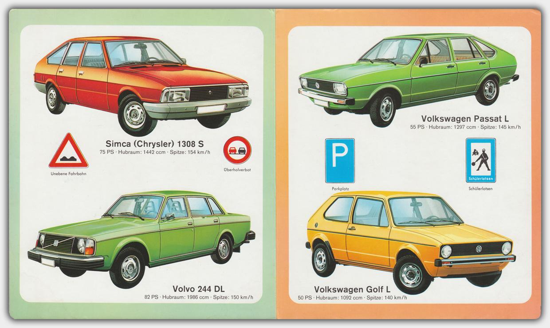Autos | Pestalozzi Verlag | Ausgabe 1977 | Innenseite