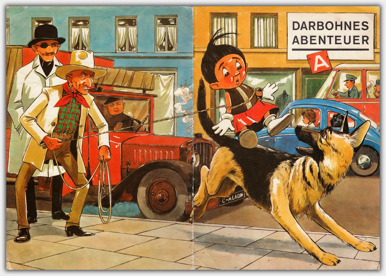 Darbohnes Abenteuer | Umschlaggestaltung
