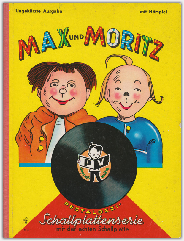 Nr. 1752 : Max und Moritz – mit Hörspiel