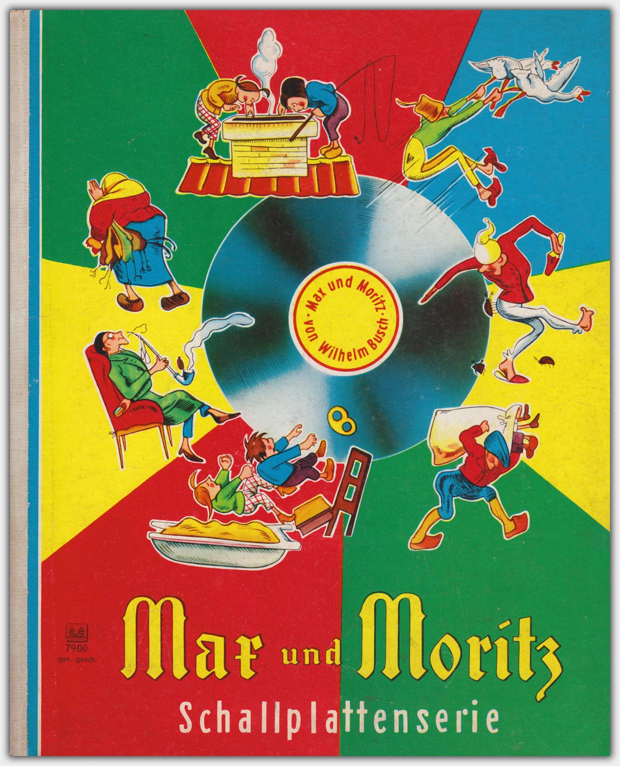 Max und Moritz | Schallplattenserie | Schwager & Steinlein Verlag