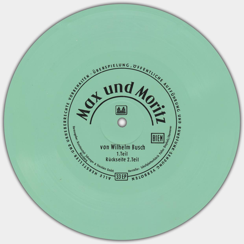 Max und Moritz | mintfarbene Flexi-Disc