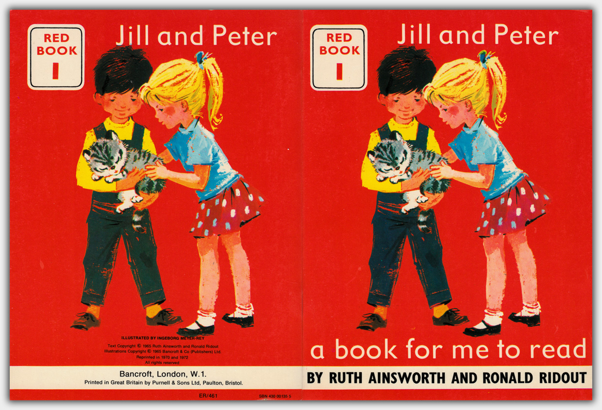 A book for me to read | Red Book 1 : Jill and Peter