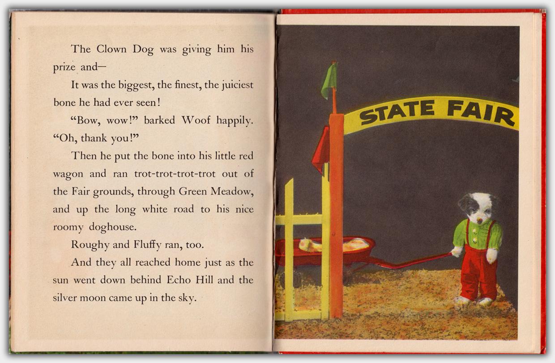 Elf Book 447 : Three Little Puppies   Innenseite