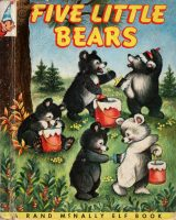 Elf Book 498 : Five Little Bears