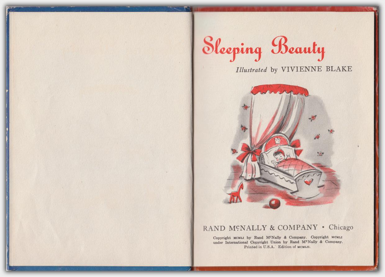 Rand McNally Junior Elf Book 668 : The Sleeping Beauty | Innentitel