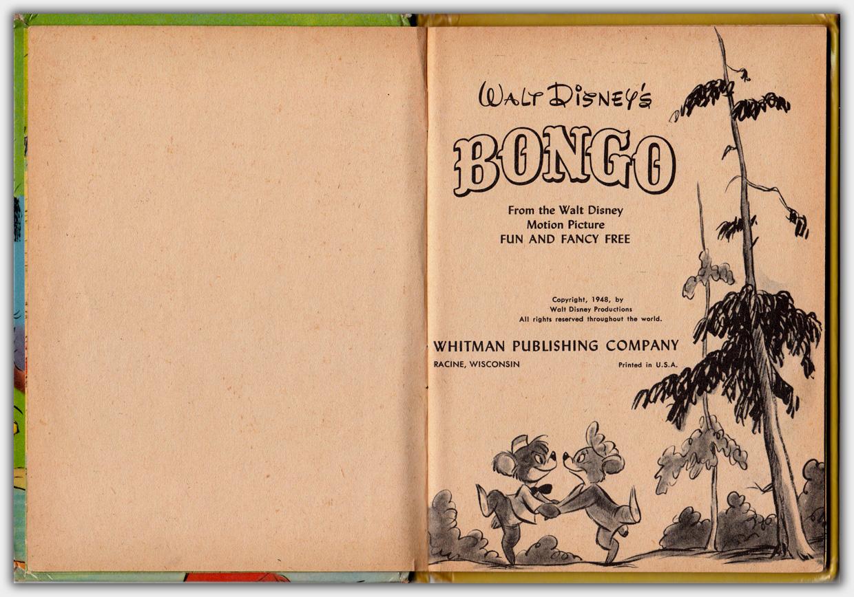 Walt Disney's Bongo | Innentitel