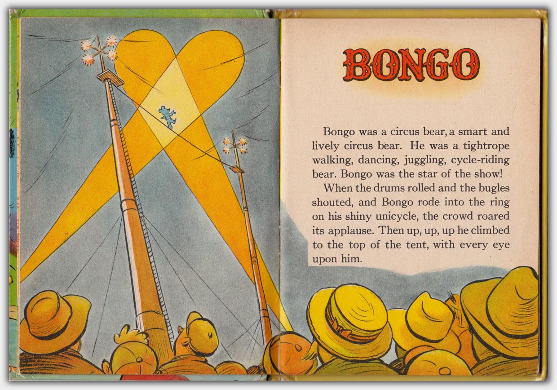 Walt Disney's Bongo | Erste Innenseite