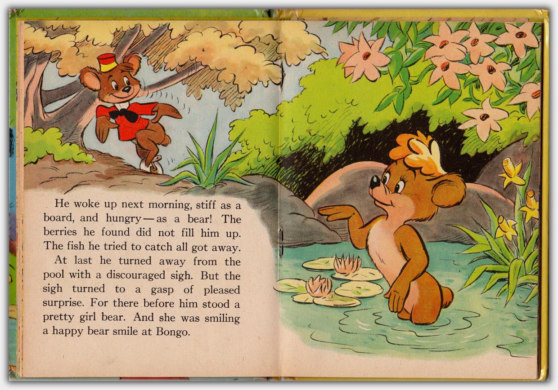 Walt Disney's Bongo | Beispielseite Buchmitte