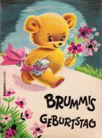 Teddy-Buch 1: Brummis Geburtstag