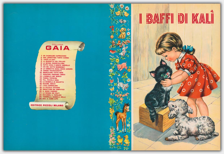 Collana Gaia | I baffi di Kalì | Umschlaggestaltung